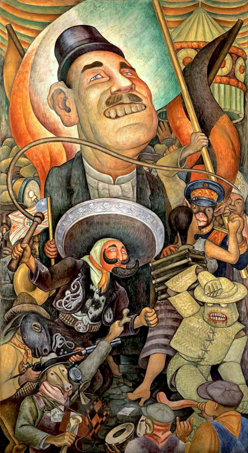 Carnaval De La Vida Mexicana Diego Rivera Historia Arte Ha
