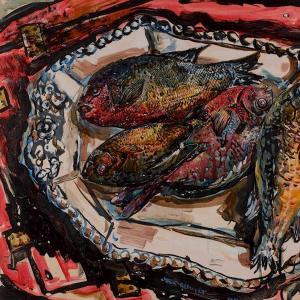 Platter under Georgia Fish