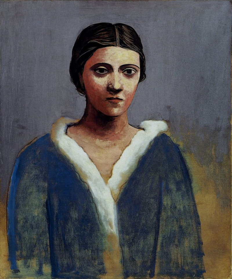 Portrait de femme (Olga)