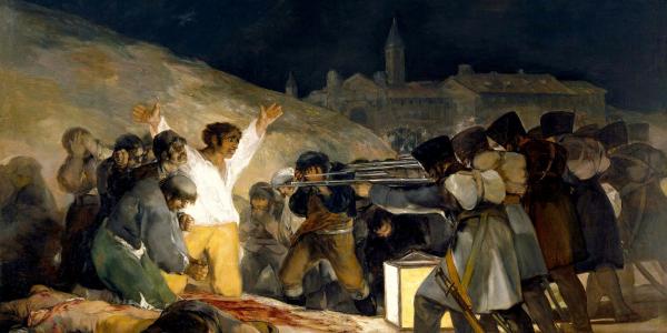 Los fusilamientos del 3 de mayo - Francisco de Goya - Historia ...