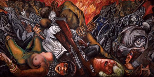Imagenes De Los Murales De Jose Clemente Orozco
