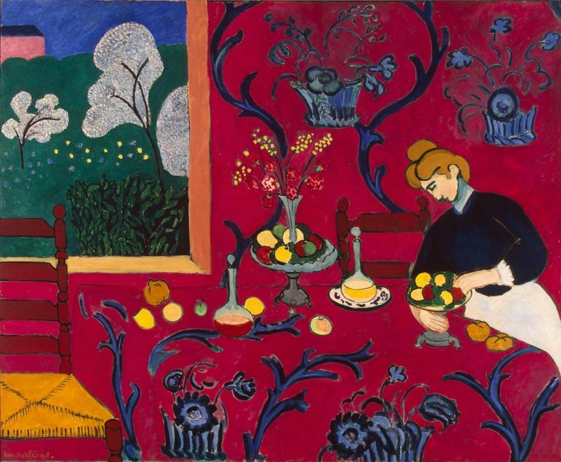Armonía en rojo - Henri Matisse - Historia Arte (HA!)