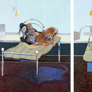 Three Studies of Figures on Beds