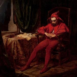 Stańczyk w czasie balu na dworze królowej Bony wobec straconego Smoleńska