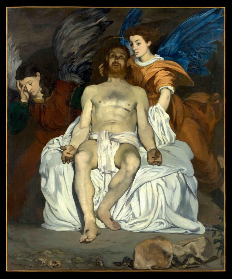Les Anges au tombeau du Christ