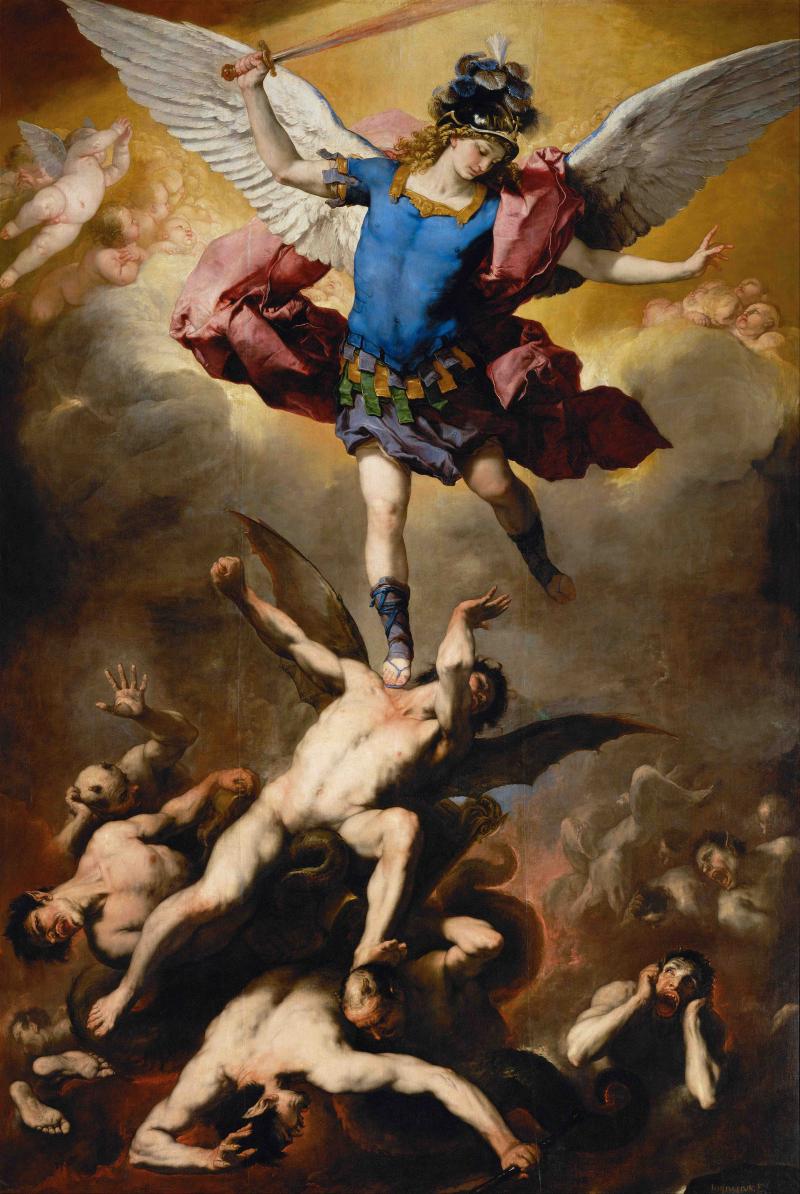 Caduta degli angeli ribelli.