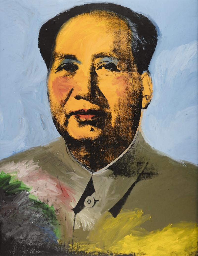 Mao - Andy Warhol - Historia Arte (HA!)