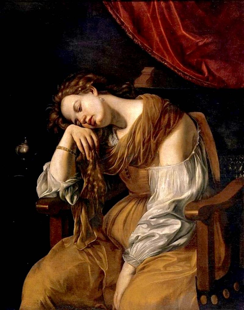 Maria Maddalena come la Malinconia