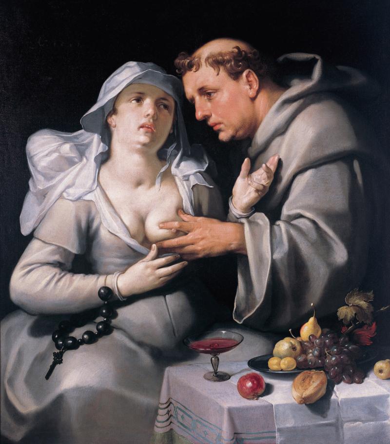 Een Monnik en een Begijn