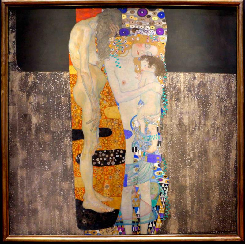 Las Tres Edades De La Mujer Gustav Klimt Historia Arte Ha