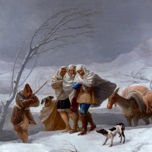 La nevada (o El invierno)