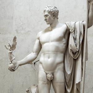 Napoléon en Mars désarmé et pacificateur
