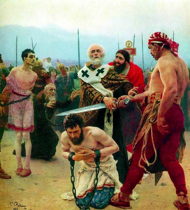 Николай Мирликийский избавляет от смерти трёх невинно осуждённых