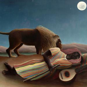 La bohémienne endormie