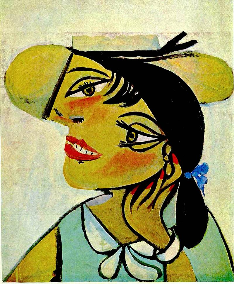 Portrait de femme au col d`hermine (Olga)