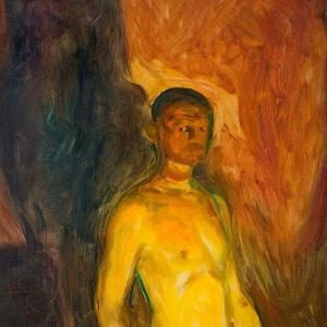 Selvportrett i helvete