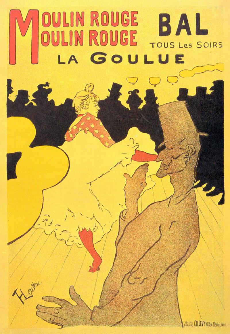 Moulin Rouge: La Goulue