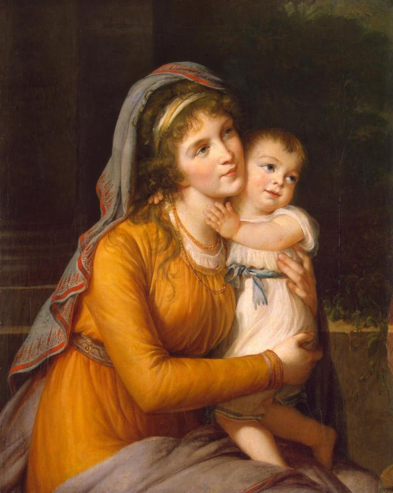 Portrait de la baronne Stroganov