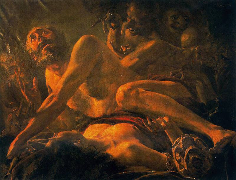 Las tentaciones de San Jerónimo
