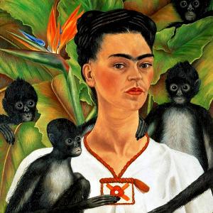 Autorretrato con monos