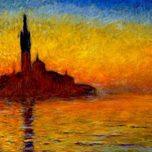 Venise au crépuscule