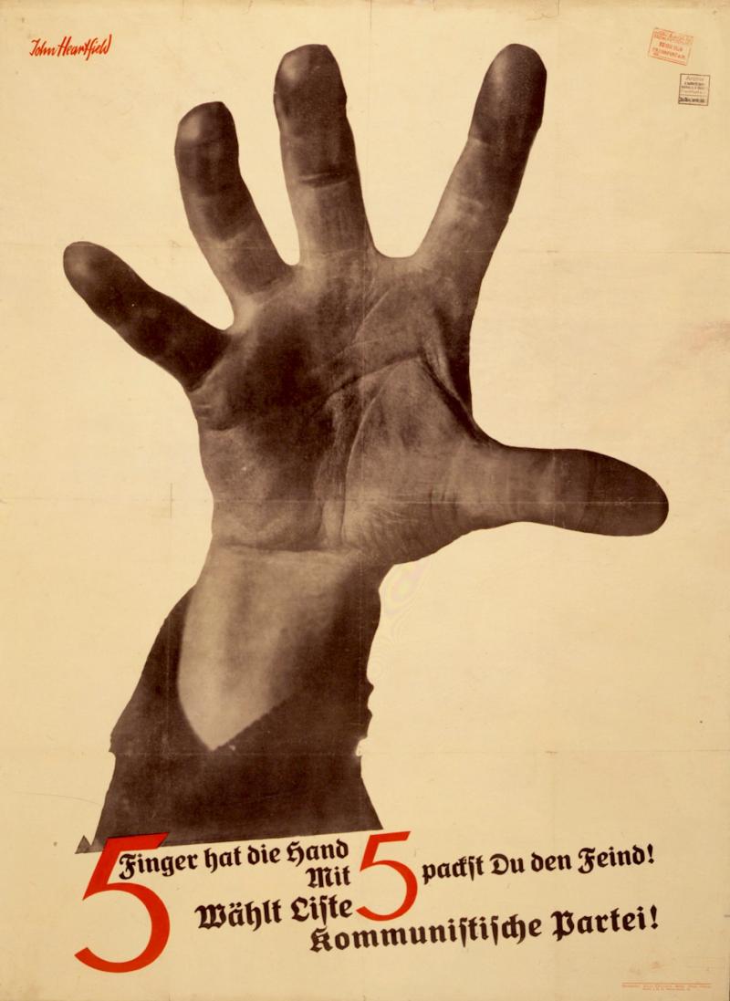 5 Finger Hat Die Hand