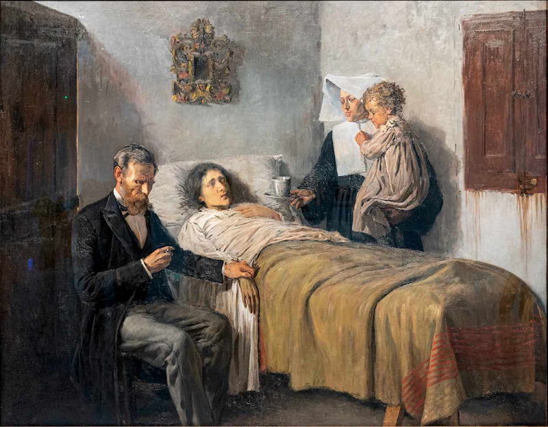 Ciencia y caridad - Pablo Picasso - Historia Arte (HA!)