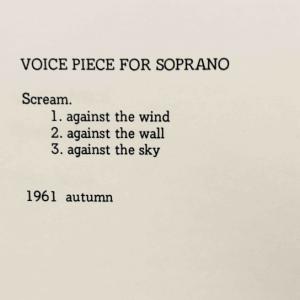 Voice Piece for Soprano