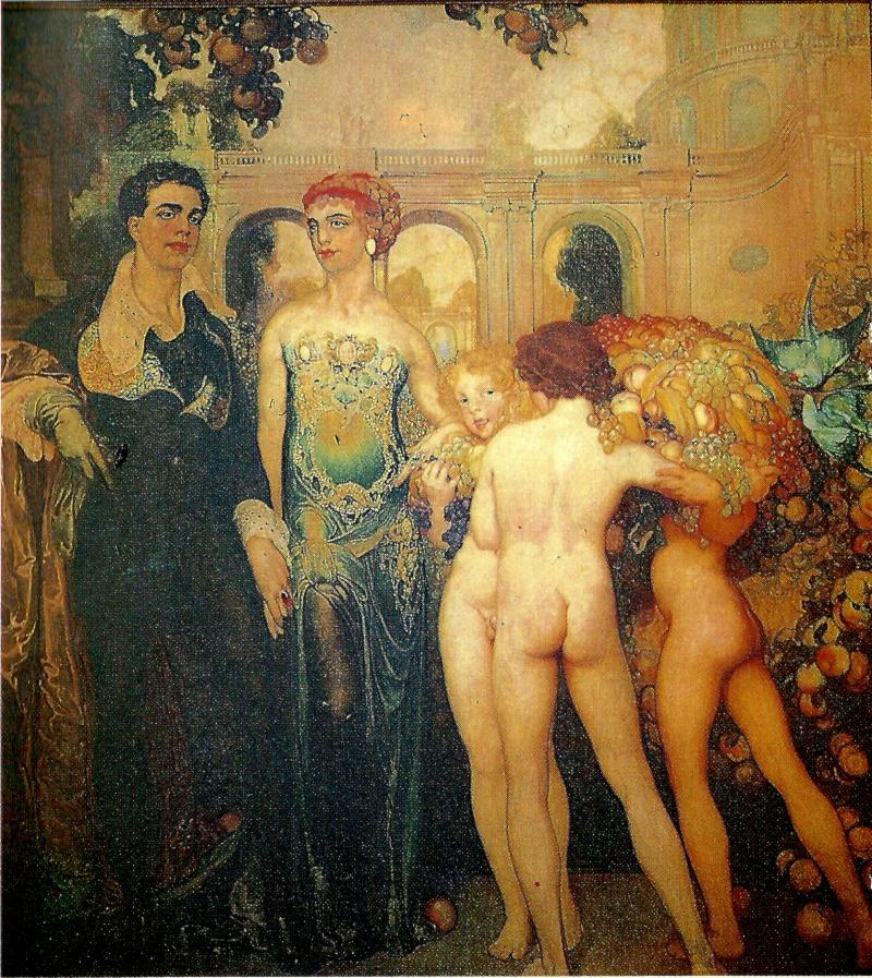Las bodas del príncipe Néstor