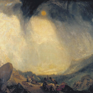 Snow Storm: Hannibal and his Army Crossing the Alps