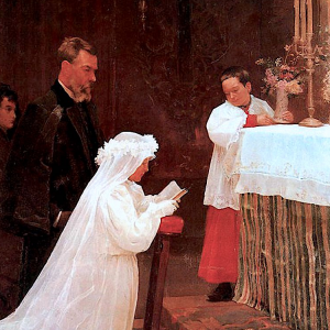 La primera comunión