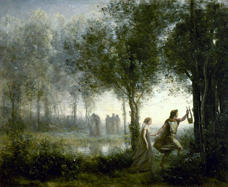 Orphée ramenant Eurydice des enfers