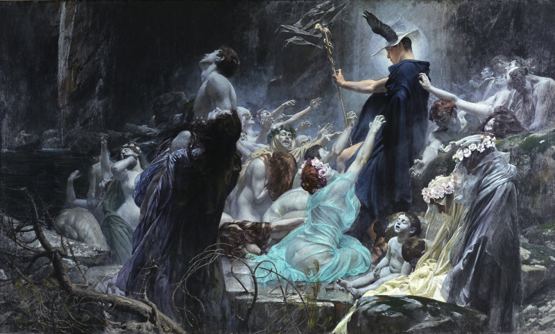 Die Seelen am Acheron