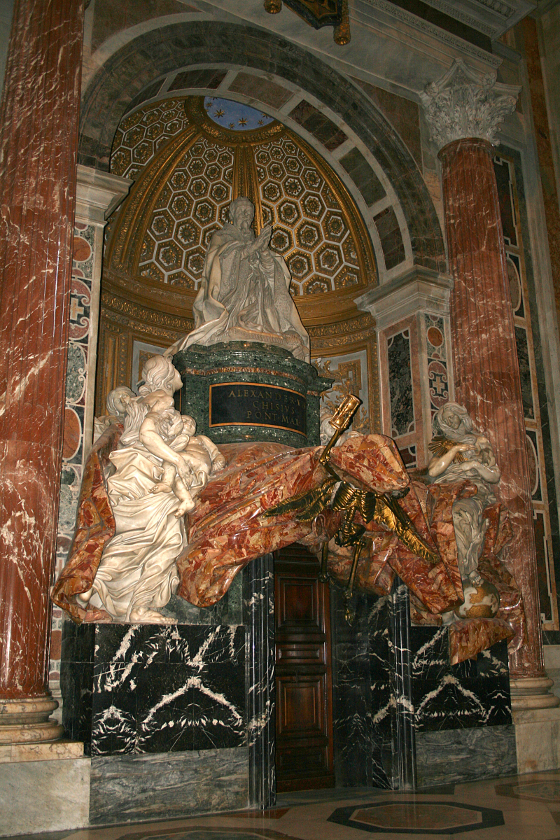 Tomba di Papa Alessandro VII