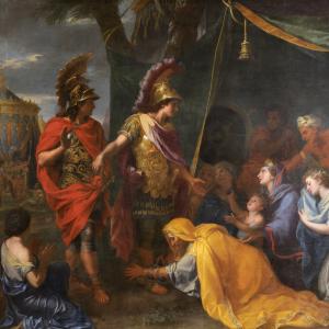Les reines de Perse aux pieds d'Alexandre.