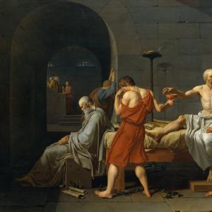 La mort du Socrate