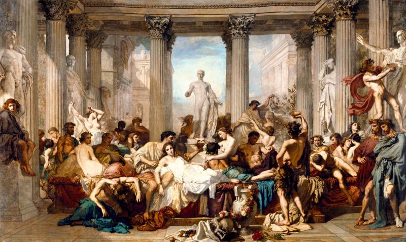 Romains de la décadence