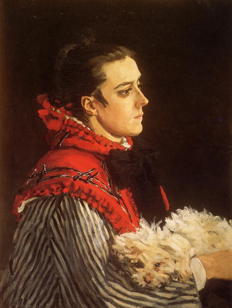 Camille au petit chien