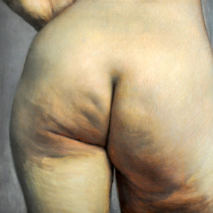Estudio anatómico de un culo