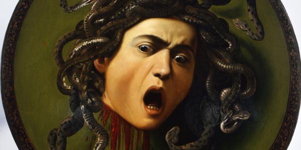Resultado de imagen de Caravaggio medusa