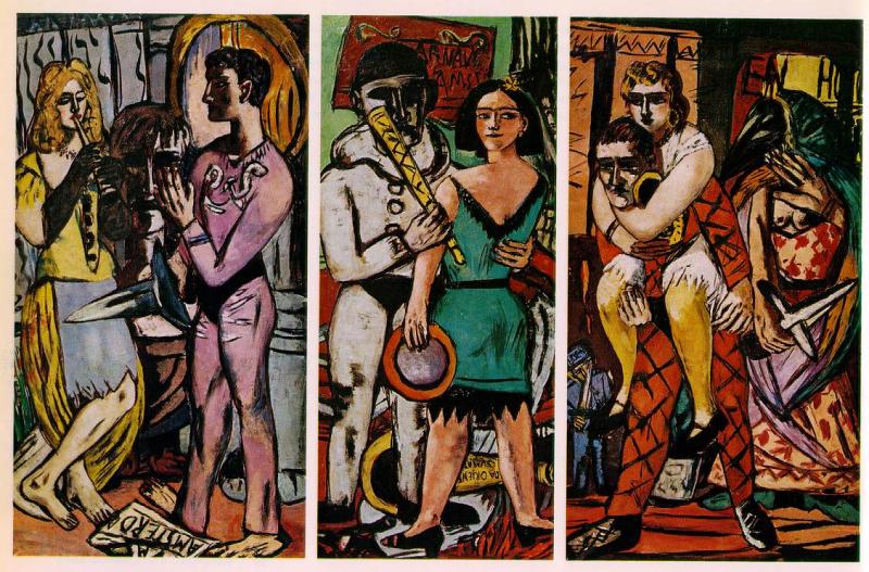 Triptychen Karneval