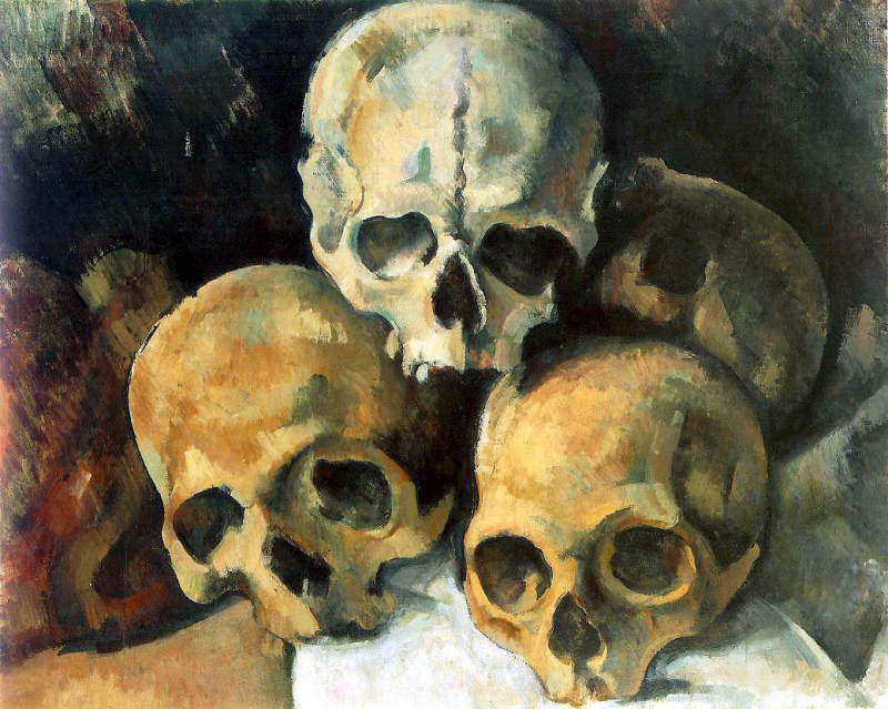 Pyramide des crânes