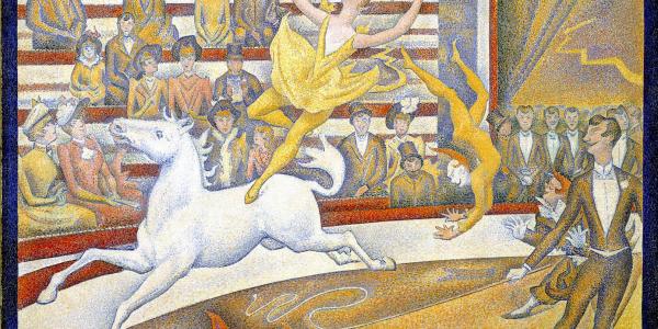 El circo - Georges Seurat - Historia Arte (HA!)