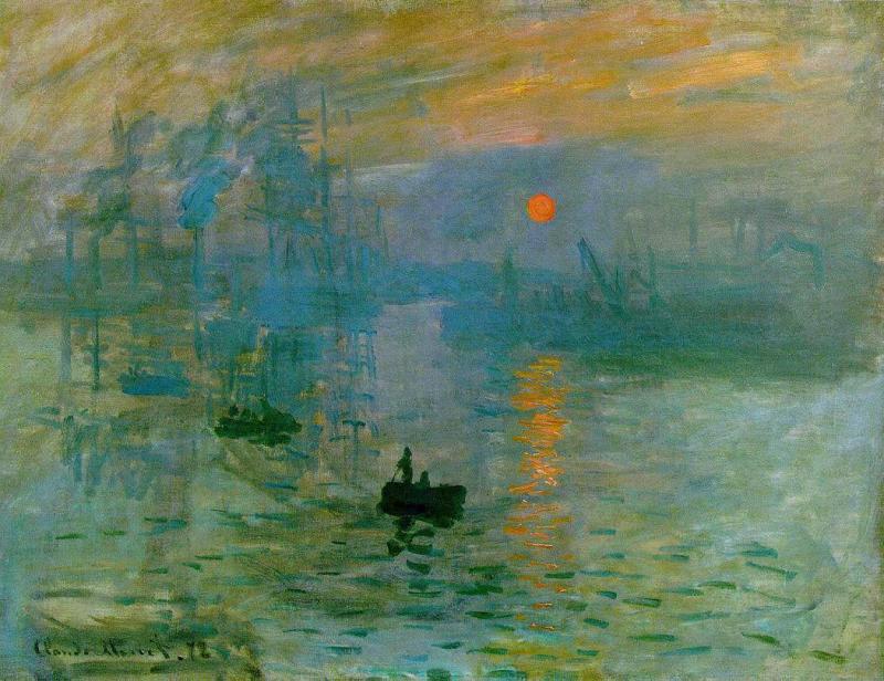 El cuadro que dio nombre al Impresionismo - Claude Monet ...