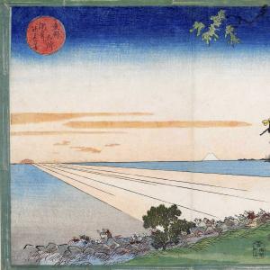 「東都名所 洲崎初日出の図」