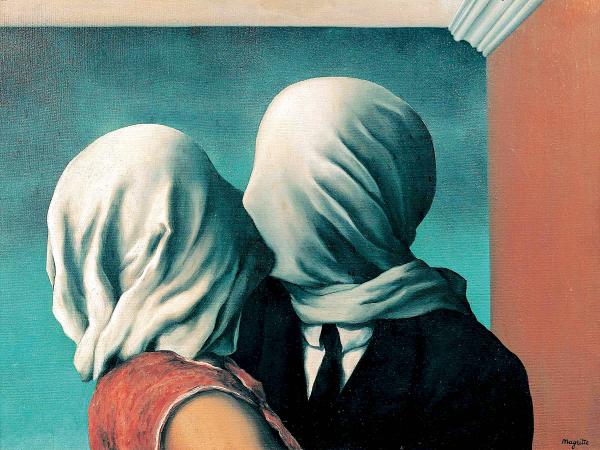 Los amantes - René Magritte - Historia Arte (HA!)