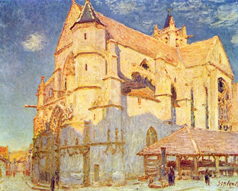 Église de Moret (Plein Soleil)