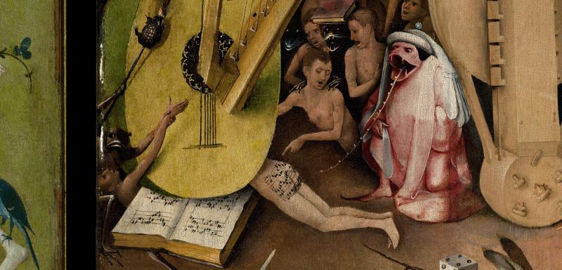 La partitura en el culo, de El Bosco
