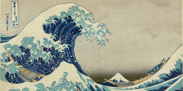 La gran ola de Kanagawa - Katsushika Hokusai - Historia Arte (HA!)