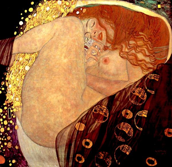 Dánae - Gustav Klimt
